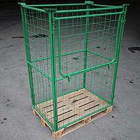 Studach Palette mit Gitter gross 1.6 m3